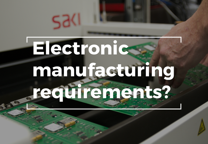 do you require electronic manufacturing services from gspk design-