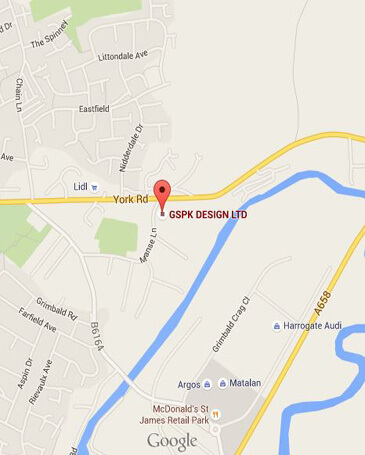GSPK Design on Google Maps