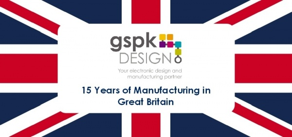 Proud to be manufacturing for over 15 years in Great Britain