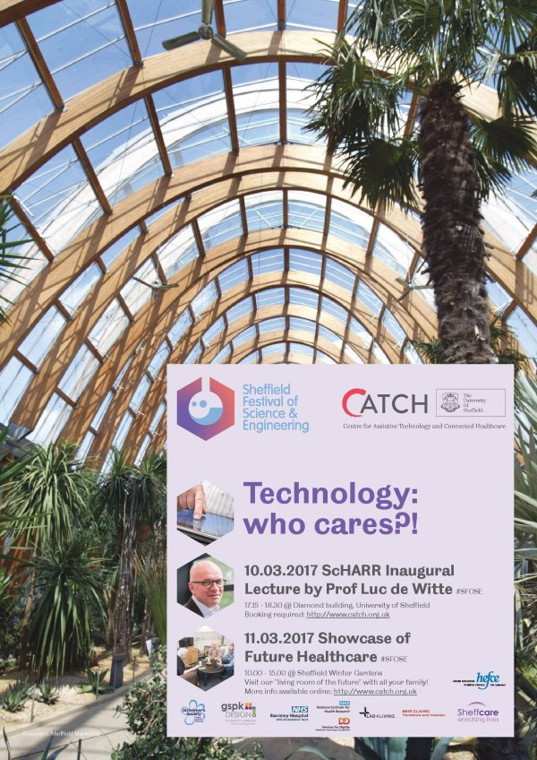 CATCH poster - Tech: Who cares